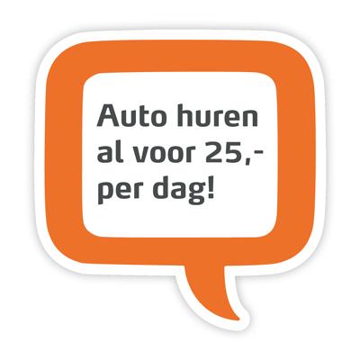 auto huren vanaf 25 euro